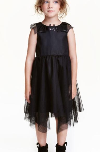 Hm Halloween.H M Black Tutu Dress Face W Fangs Halloween